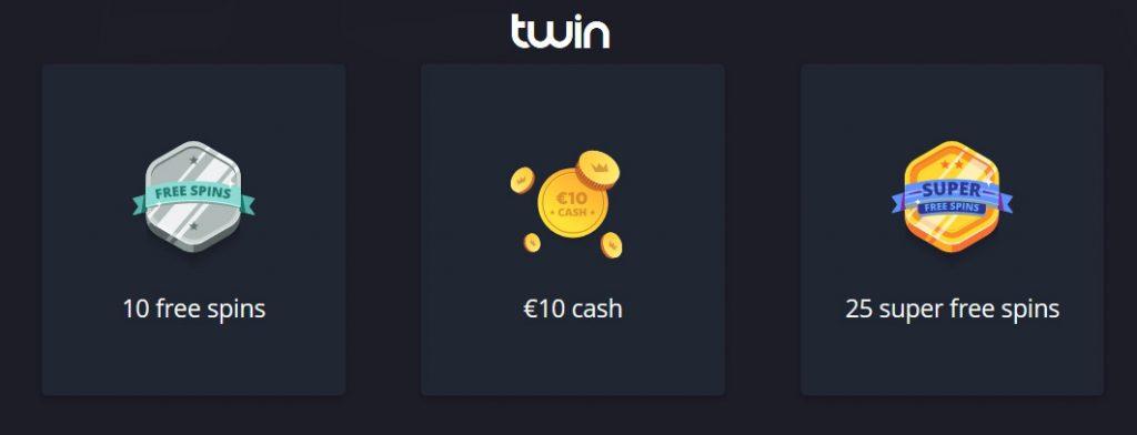 Twin Casino Loyalty programm.